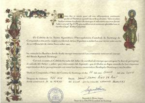 Compostela-Certificate
