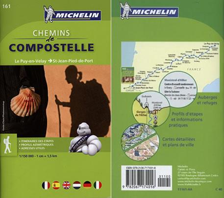 Michelin Chemins le Compostelle Guide Books