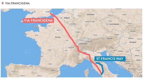 Camino St Francis Way