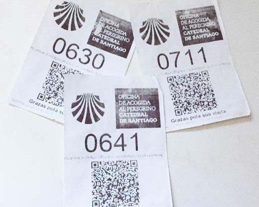 camino, pilgrim-ticket